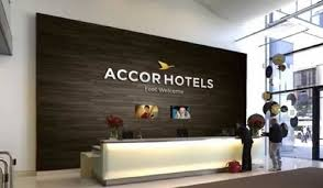 Front desk of Accor Hotels