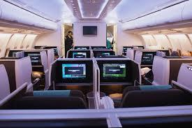 Business class options from Brisbane Airport