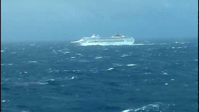 Cruise during bad weather